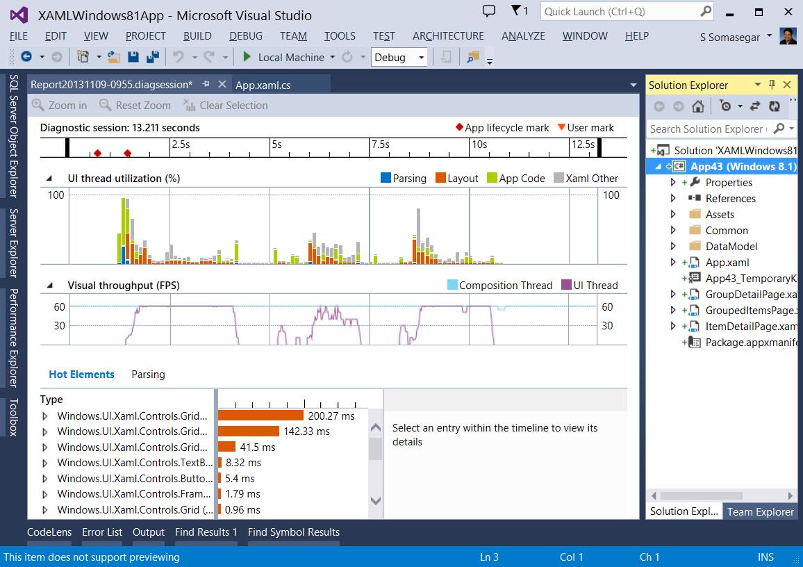 Visual studio 2013 програмування переходить в